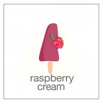 raspberries and cream