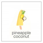 sugarfree pineapple coconut